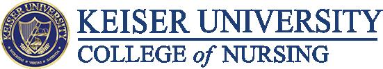 Keiser University College of Nursing Logo